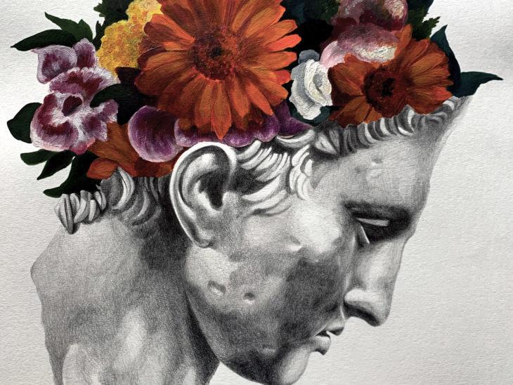 In bloom – opera di Ligama