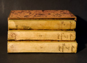 Prima edizione dei Promessi sposi, 1825-26, conservata presso la Biblioteca Vieusseux