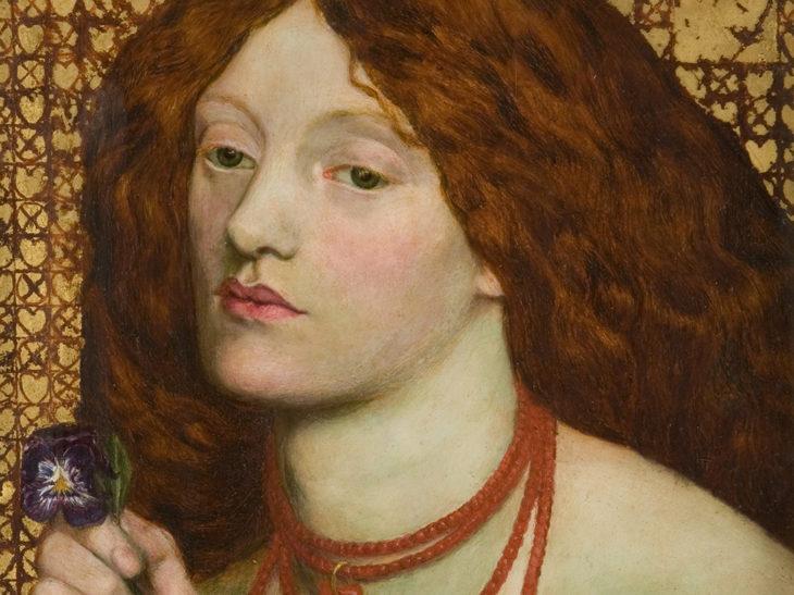 Dante Gabriel Rossetti – Regina Cordium, 1860 © Johannesburg Art Gallery