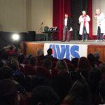 Il pubblico in sala durante l'esibizione dei VIP Libecciati