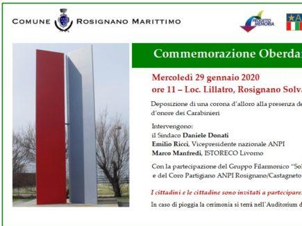 Invito Commemorazione Oberdan 2020