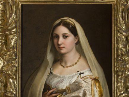 Raffaello La Velata- Uffizi