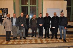 artisti curatori e presidente provincia