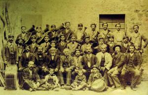 Banda musicale di San Quirico, fine dell'Ottocento