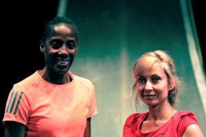 Fiona May e Luisa Cattaneo – Maratona di New York4