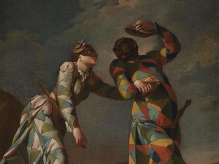 Giovanni Domenico Ferretti, Arlecchino con Arlecchina_Fondazione CR Firenze