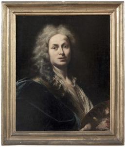 Giovanni Domenico Ferretti, Autoritratto (1719)_Firenze_Gallerie degli Uffizi