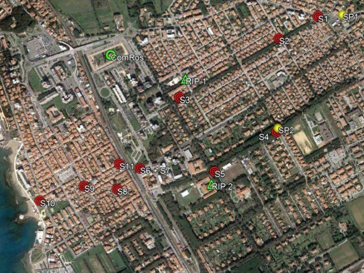 Mappa sirene botri