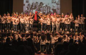 Un momento dell'iniziativa con le scuole (foto C. Massa)