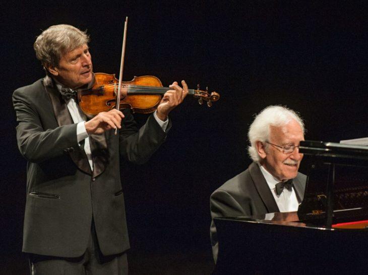Uto Ughi e pianista