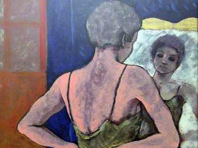 b_magoni_nudo allo specchio_olio_100x70_