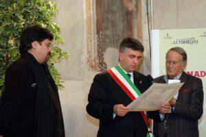 Foto Sepulveda con Sindaco Mallegni e Romano Battaglia 2