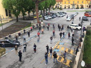 Foto chiavi consegna sindaco Giovannetti panoramica