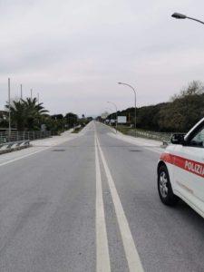 Foto controlli Polizia Municipale Covid 8
