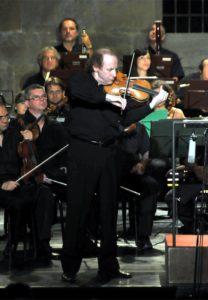 CONCERTO AL BARGELLO DELL'ORCHESTRA DA CAMERA FIORENTINA E I CAMERISTI DEL MAGGIO MUSICALE FIORENTINO,DIRETTORE  MAESTRO GIUSEPPE LANZETTA, VIOLINO  YLIA GRUBERT.
