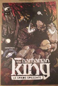 THE BARBARIAN KING cover