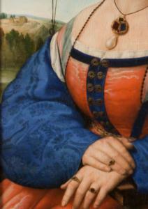 dettaglio gioielli Maddalena Doni